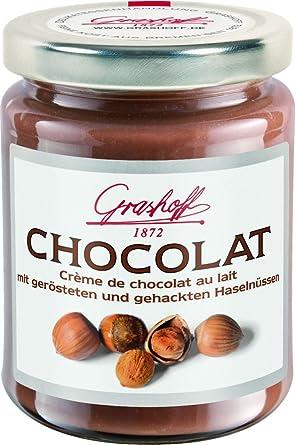 Grashoff Creme De Chocolat Au Lait Mit Haselnussen 235g Amazon De