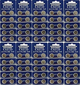 AG13 LR44 357 L1154 A76 Alkaline BATTERY QTY 100 - 10 Packs of 10