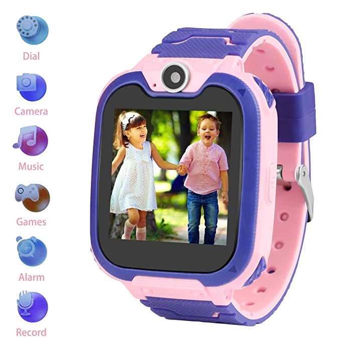 Kids Smartwatch Children Phone Smart Watch Two-Way Call SOS Games Camera Music Player 1.54 inch Touch Screen Boys Girls Gift …