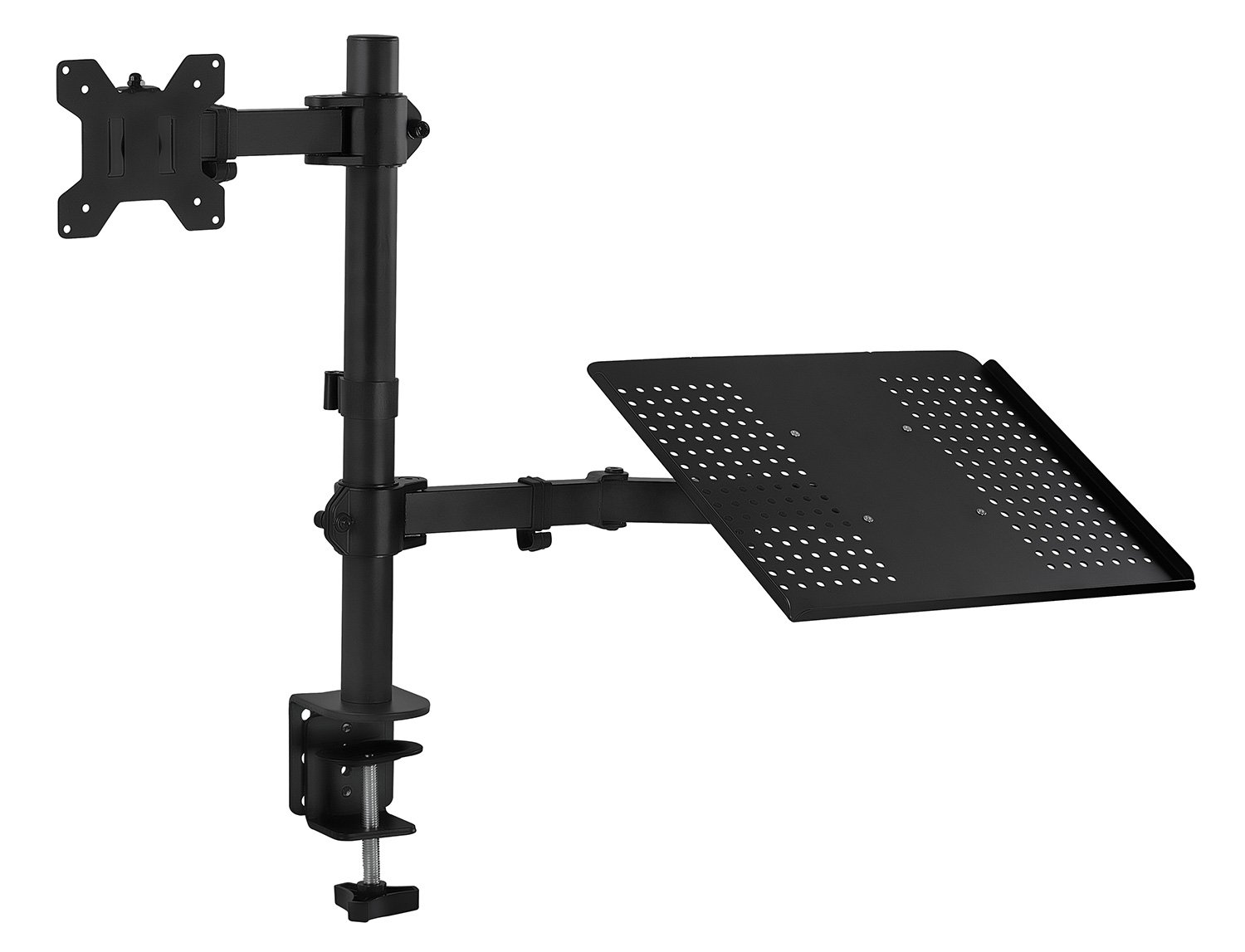 Black 1 Gibson Holders DCWB Adjustable Wire Display Easel 5.5 W x 8.75 H with 1.5 display ledge
