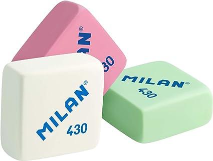 Milan 430 - Caja de 30 gomas de borrar, miga de pan: Amazon.es ...