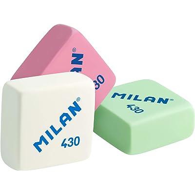 Milan 430 - Caja de 30 gomas de borrar, miga de pan