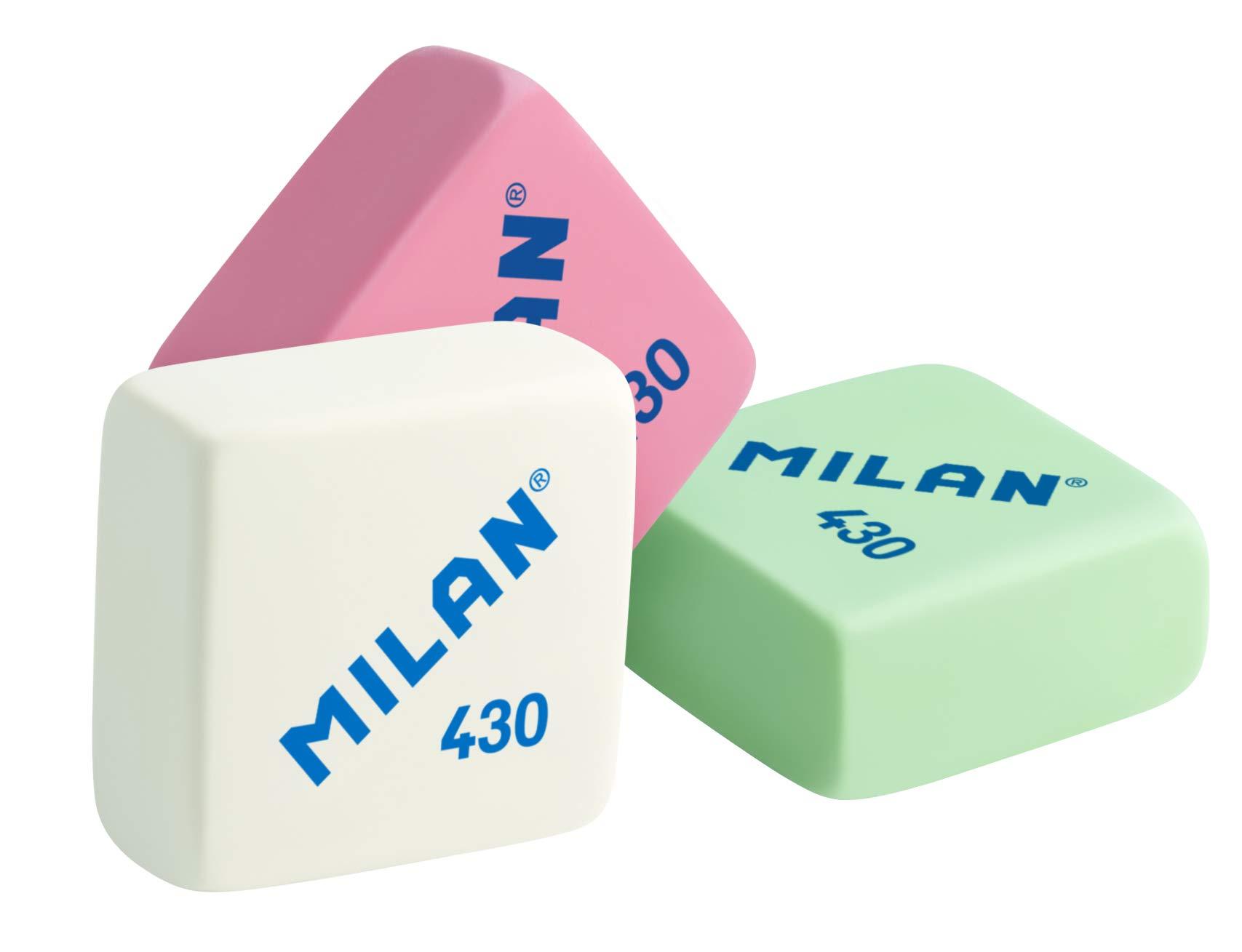 Milan 430 - Caja de 30 gomas de borrar, miga de pan product image