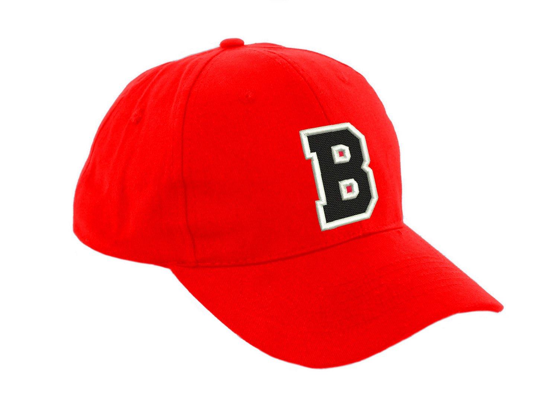 New Casquette de Baseball Cap ROUGE Garçon Fille Enfants Chapeau Bonnet  Unisexe A-Z Alphabet (M)  Amazon.fr  Auto et Moto e5b3b0d7166