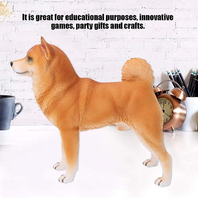 naturgetreue Hundefiguren figur Tiermodell Spielzeug für Kinder Geschichten