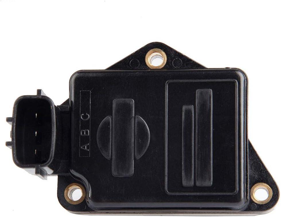 AUTOMUTO Mass Air Flow Sensor MAF fit for 1990-1994 Nissan D21 2.4L 1995-1996 Nissan Pickup 2.4L AFH55M10 AFH55M10