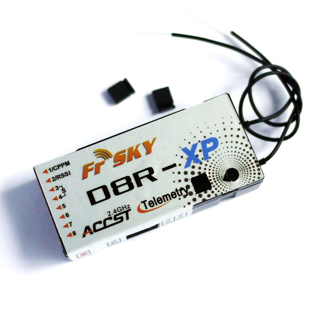 Amazon com: FrSky D8R-XP D8RXP 2 4G 8CH Telemetry Receiver