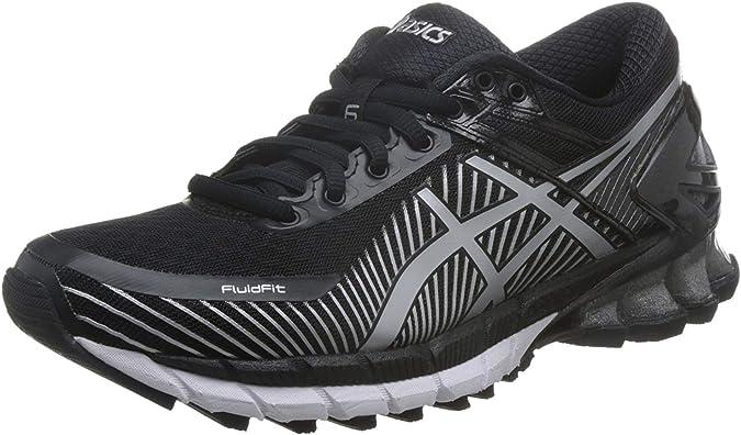 ASICS Gel-Kinsei 6 Tenis para Correr para Mujer, Negro (Black/Glacier Grey/White), 36 EU: Amazon.es: Zapatos y complementos