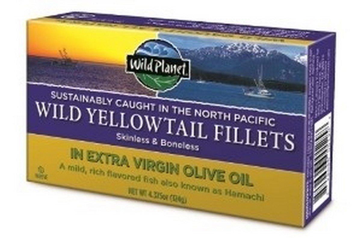 Wild Planet Yellowtail Wld Fllt Evoo