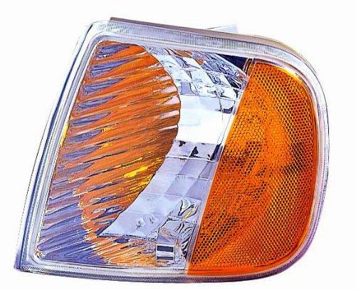 Depo 331-1538PXUSN Diamond Park Signal Lamp Unit with Amber Reflectors - Pair ()