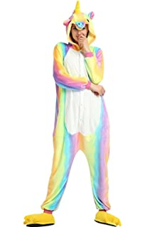 MiFier Unisex Adult Animal Pajamas Kigurumi Onesie Halloween Cosplay Costume