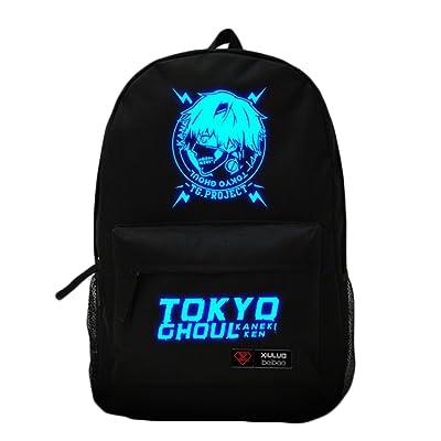 993a8309962f Rain s PanAnime Tokyo Ghoul Cosplay Kaneki ken Luminous Backpack for Adults  hot sale 2017