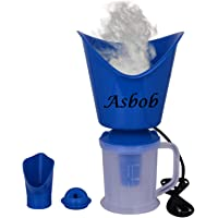 Asbob® 3 In 1 Steam Vaporizer, Nose Steamer, Cough Steamer, Nozzle Inhaler & Nose Vaporiser (AH-01)