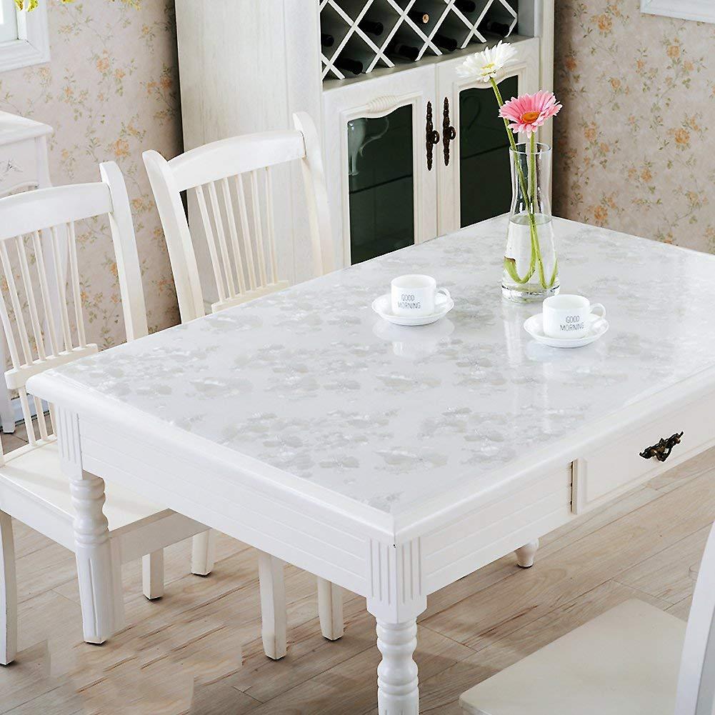diseño único D 80x140cm WENYAO Tablecloth Tablecloth Tablecloth Tabmat Tea tabcloth Waterproof Anti-Hot Oil-Proof Soft Plastic Tea tabmat Pad,D_80x140cm  más orden