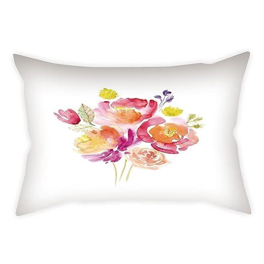 iPrint - Funda de cojín de lino y algodón para decoración de ...