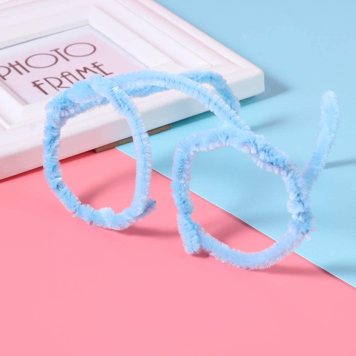 30/cm souple au peluche pour les enfants pour bricolage et d/écoration ounona cure-pipes 150/morceau de fil chenille 6/mm