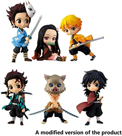 Amazon Com Demon Slayer Kimetsu No Yaiba Set Model Kamado