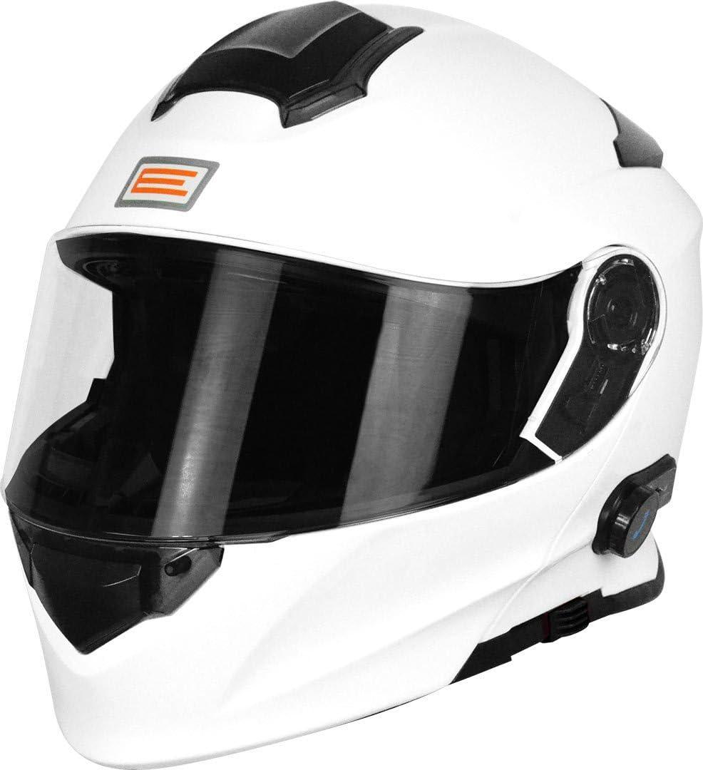 Origine Helmets 204271718100004 Delta Solid – Casco para moto, desmontable, con Bluetooth integrado, color blanco, talla M.