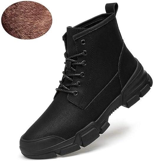 Hy Chaussures de Sport en Cuir, Bottes d