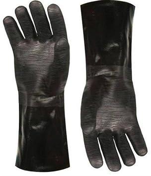 Artisan Griller resistente al calor aislamiento para barbacoa, fumador, parrilla, horno y cocina guantes. Ideal en la cocina o en la barbacoa Grill -1 par: ...