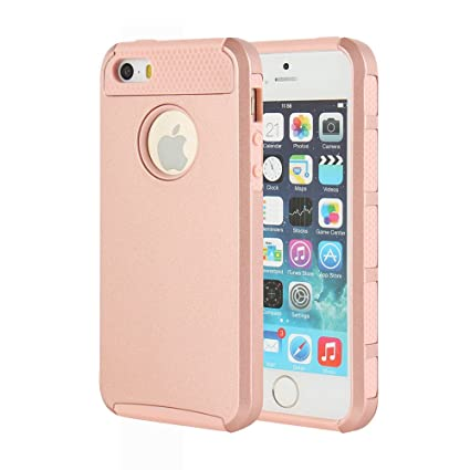 iphone 5s gold. iphone 5 case, 5s mtronx\u0026trade; shockproof hybrid hard soft tpu case iphone gold