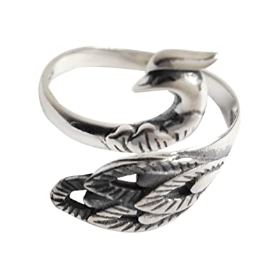 SHEIS LOVING Rings Silver 925 For Women Band Antique Her With
