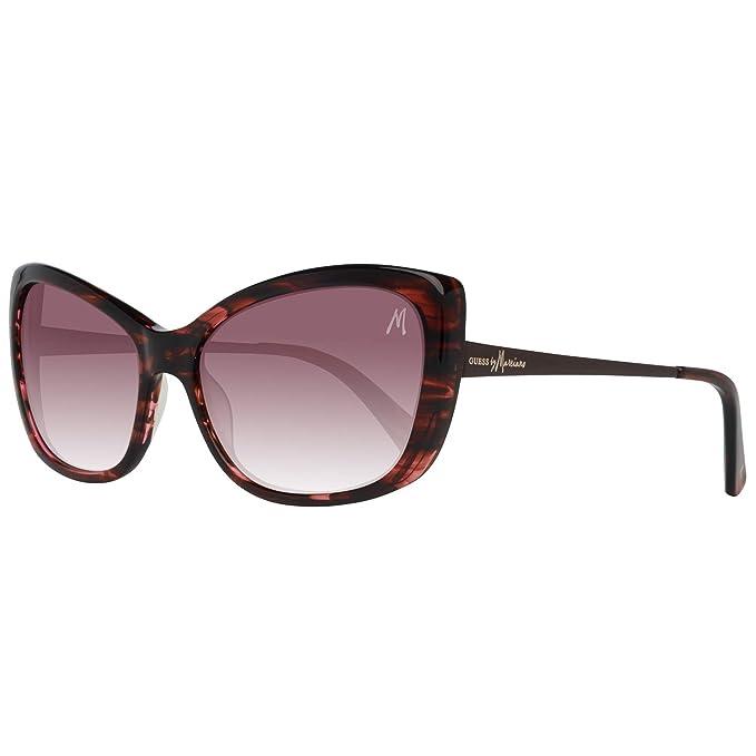 24209e8463 GUESS By Marciano Gafas de Sol GM0684 F39 57 Damen Sunglasses: Amazon.es:  Ropa y accesorios