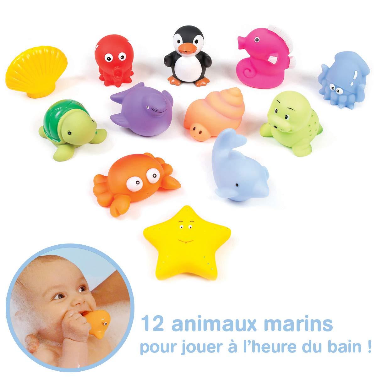 Ludi - Juguetes para el baño (12 unidades) product image