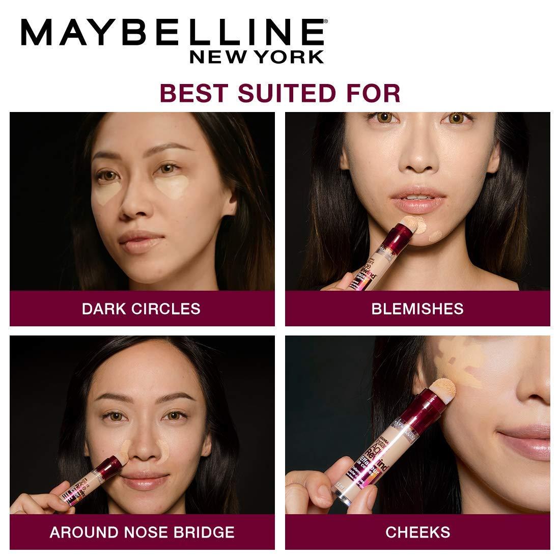 how to apply concealer in makeup
