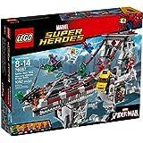 LEGO Super Heroes 76057 - Set Costruzioni Spider-Man: la Battaglia sul Ponte dei W