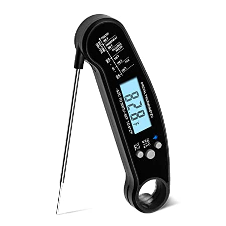 Review DIGITBLUE Meat Thermometer Waterproof,