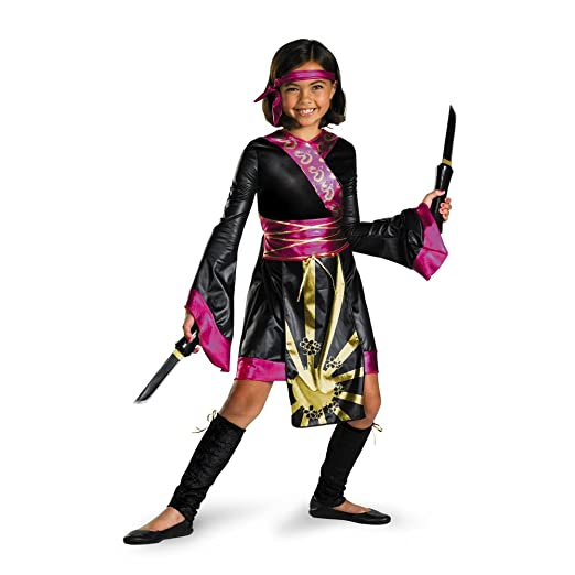 Dragon Ninja Costume - Small (4-6x)  sc 1 st  Amazon.com & Amazon.com: Disguise girls Big Girlsu0027 Dragon Ninja Costume: Clothing