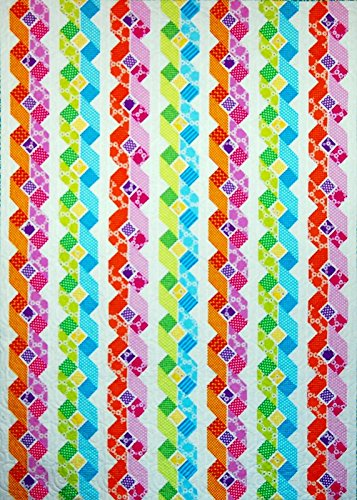 - Happy Stash Quilts Retro Ribbons Quilt Pattern