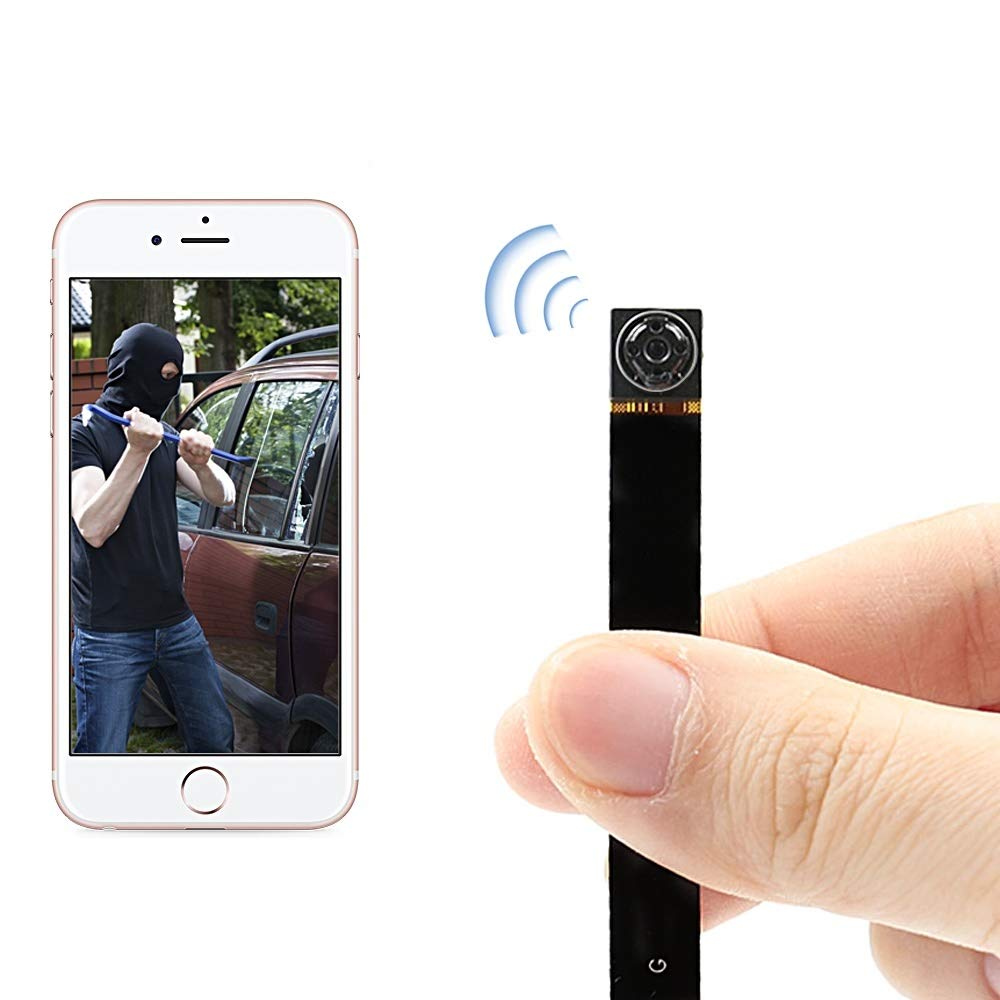 HD1080P Mini Hidden Spy Wifi Camera UYIKOO P2P Wireless IP Camera Motion Detection Remote View by UYIKOO