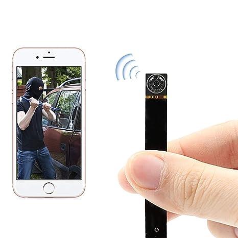 e61bd1d1d8b3f Amazon.com   HD1080P Mini Hidden Spy Wifi Camera UYIKOO P2P Wireless IP  Camera Motion Detection Remote View   Camera   Photo