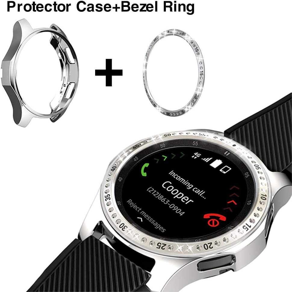 Bezel Loop ,protector Case Para Galaxy Watch 46mm Smartwatch