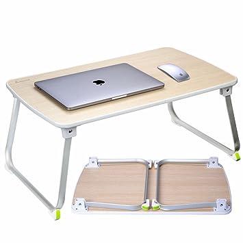 Salcar Stabiler Laptop Betttisch 70 * 50cm Verstellbarer Lapdesk ...