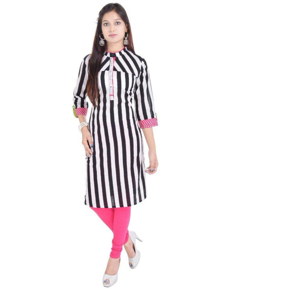 Vihaan Impex Tunika Damen Kleidung Damen Indische Kleidung Kurta Damen Indische Tunika Damen Tunika VIKU2401