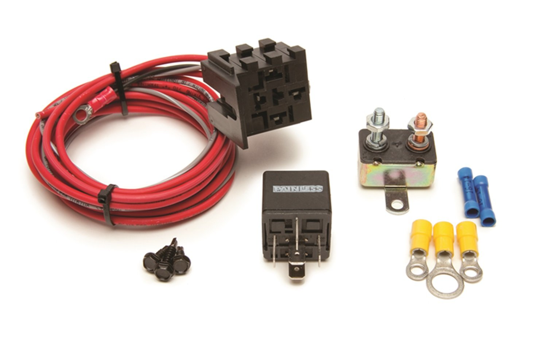 Amazoncom Painless 30101 FanThom Electric Fan Relay Kit Automotive