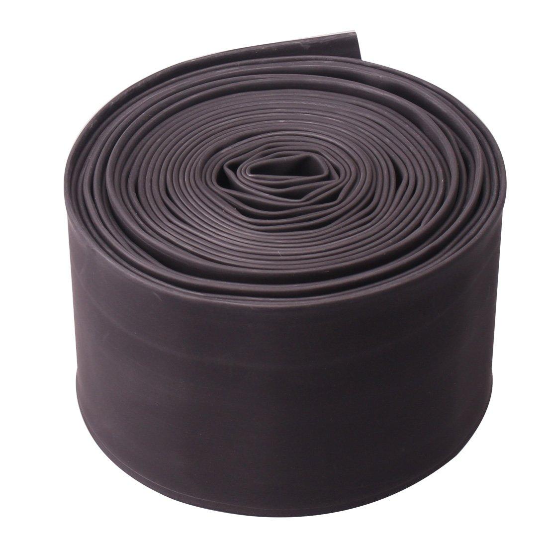 熱収縮チューブ、電気ケーブルワイヤラップ比2 : 1熱縮みShrinkable Sleevingブラック 18M / 60Ft MO6C B074YGGXSW 18M / 60Ft|Dia.50mm Dia.50mm 18M / 60Ft