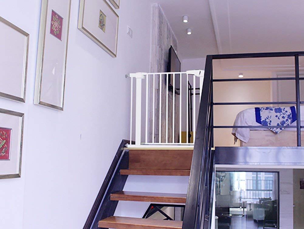 安全扉96 cm階段のための高められた子供ペットのドアで拡張可能なベビーゲートのベビーゲート拡張可能なベビーゲート(サイズ:102-109cm)   B07SV3SNR6
