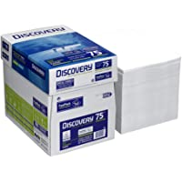 Discovery 834270 a75s – Papel, A4, sin celulosa, 75 g/m2, 2500 hojas, color blanco