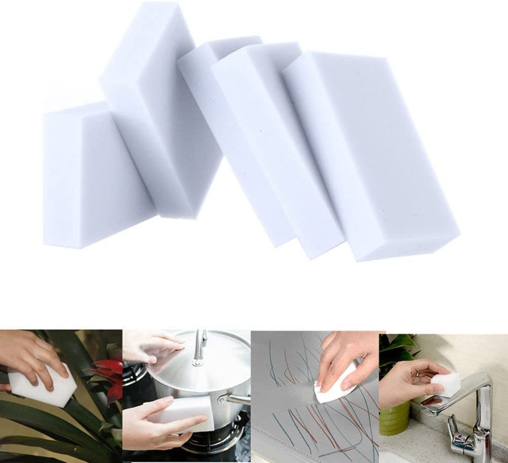 Multi Function Magic Sponge Eraser Cleaner 20 Pieces//Lot Cleaning Kitchen Bathroom