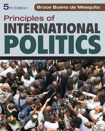 Book cover from Principles of International Politics by Bruce Bueno de Mesquita