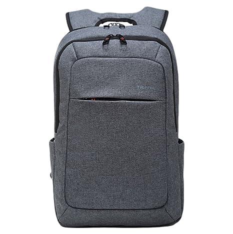 """CHENGYANG Mochila para ordenador portátil con muchos bolsillos y gran capacidad de 15.6"""""""