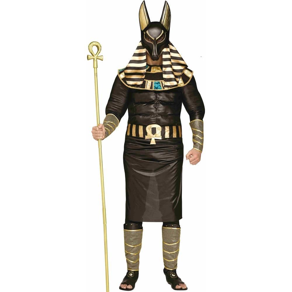Anubis the Egyptian God Plus Größe Costume