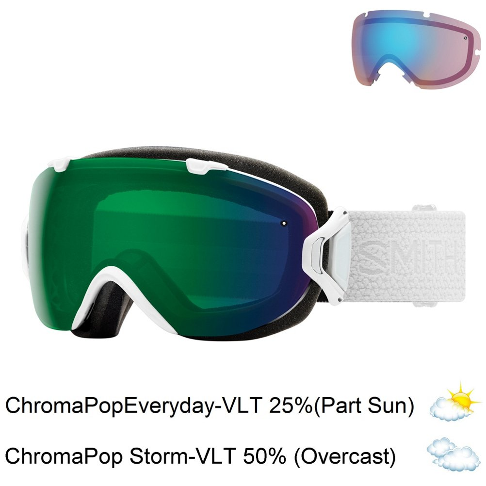ce57ef798a810 Smith Optics Goggles Adult I OS Interchangeable White CP Green IS7   Amazon.ca  Sports   Outdoors