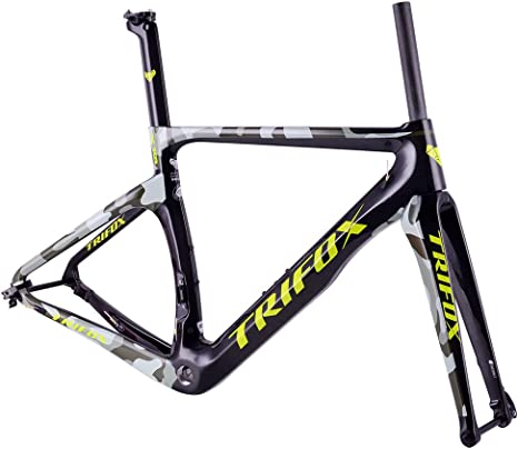 TRIFOX Carbono Bicicleta Carretera Marco Di2 Mecánico Racing ...