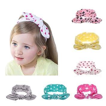 Kleidung, Schuhe & Accessoires Baby Kinder Mädchen Haarband Schleife Knote Stirnband Haarschmuck Stretch Turban
