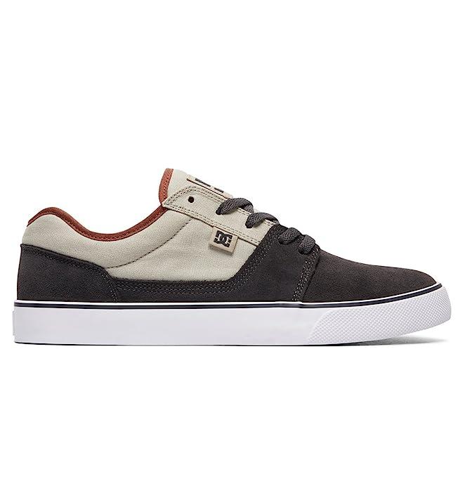 DC Shoes Tonik Sneakers Skateboardschuhe Herren Damen Unisex Erwachsene Grau/Asche